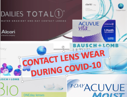 CONTACT LENS WEAR DURING COVID-19