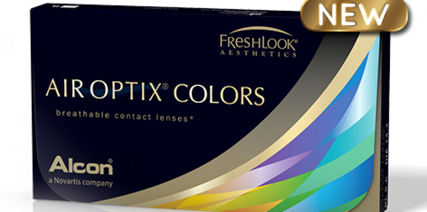 NEW! Air Optix Colors Contact Lenses
